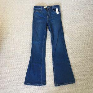 NWT high-rise bootcut jeans